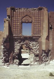 "Entrance to the ""Merchant's Palace."" Click for more on this structure.  (VirtualANI)"